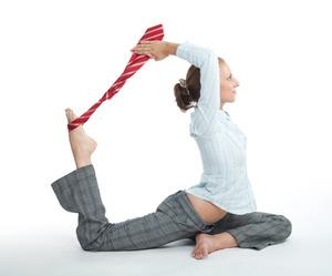 yoga con cinta