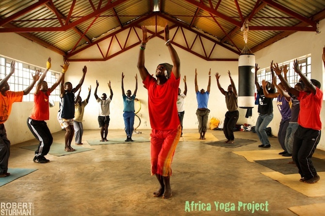 africa yoga project