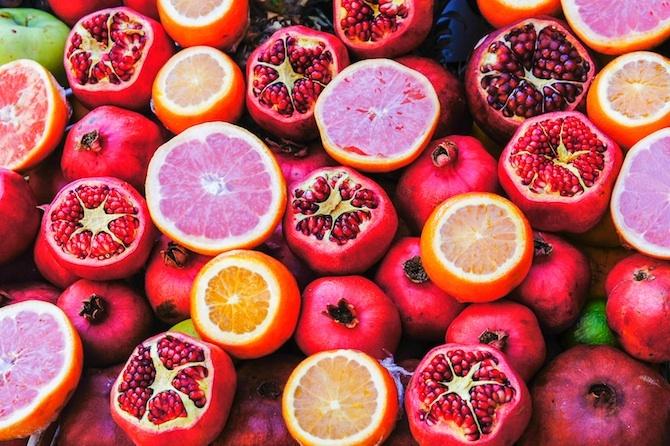 melograno e vitamina c