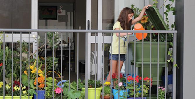 Compostiera da balcone