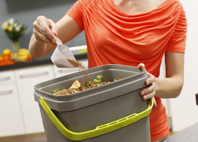 Compostiera per bokashi