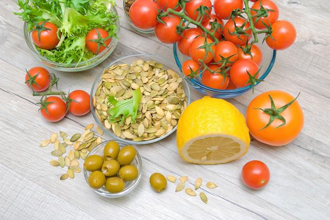 semi di zucca insalata