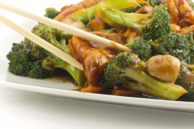tofu con broccoli