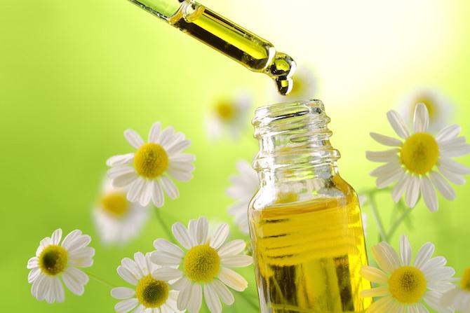 olio essenziale camomilla