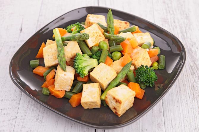 asparagi tofu curcuma