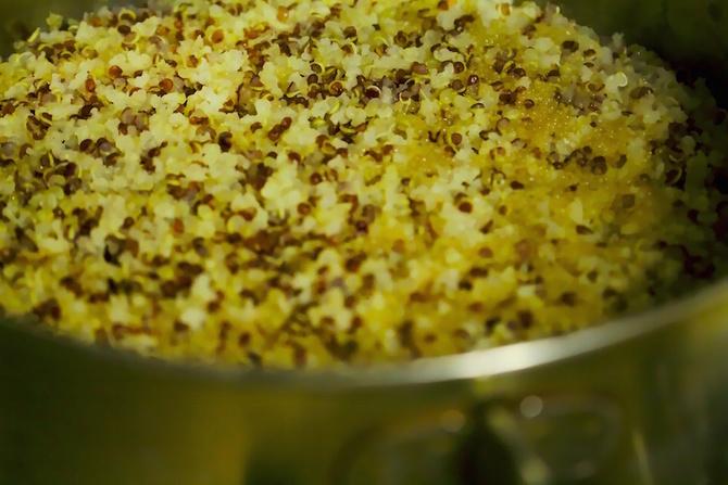 cuocere la quinoa