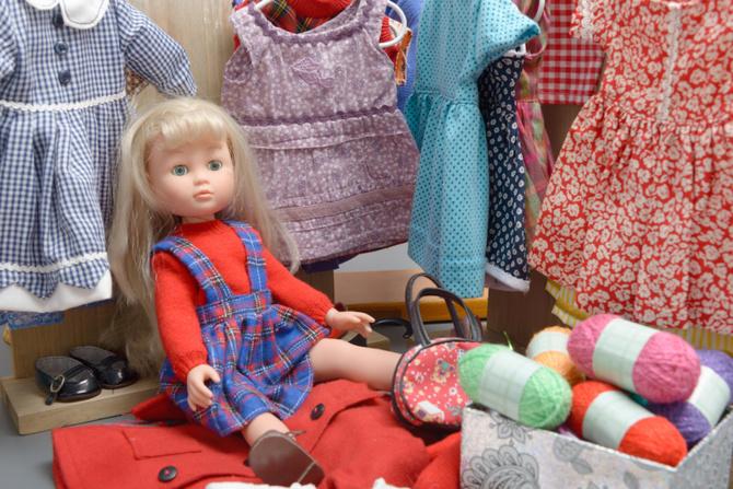 abiti bambole