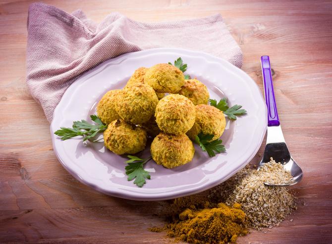 Polpette quinoa e zucca