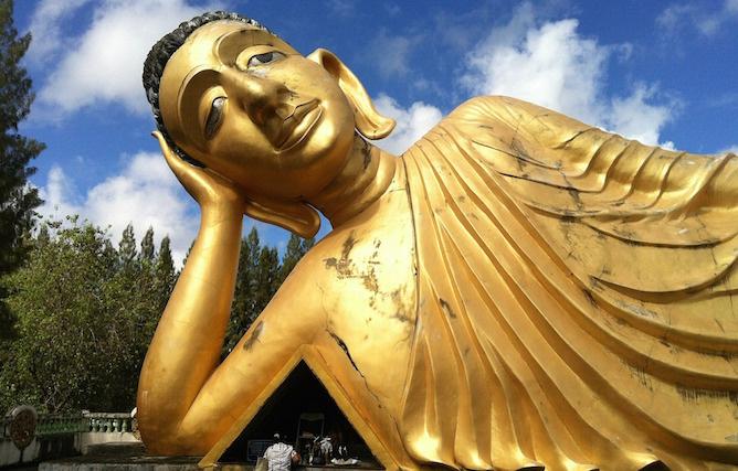 riposo buddha