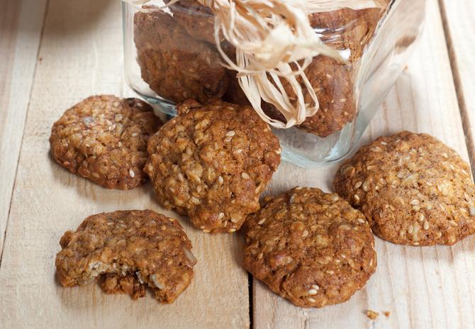 Biscotti con zucchero di cocco