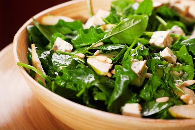 insalata spinaci
