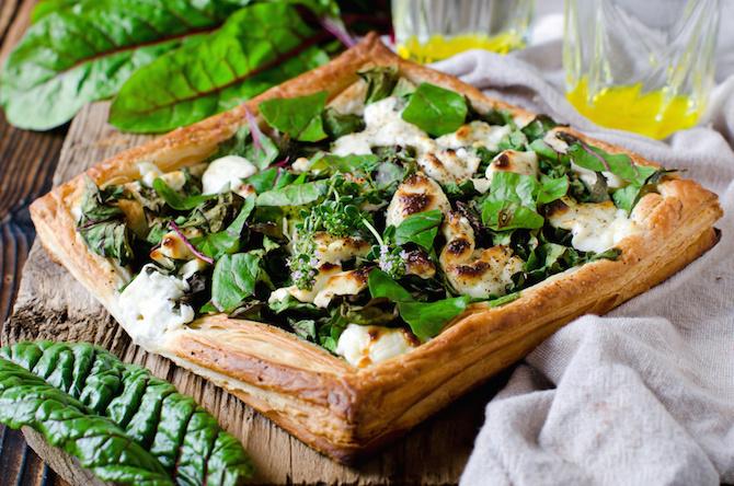 torta spinaci ricotta