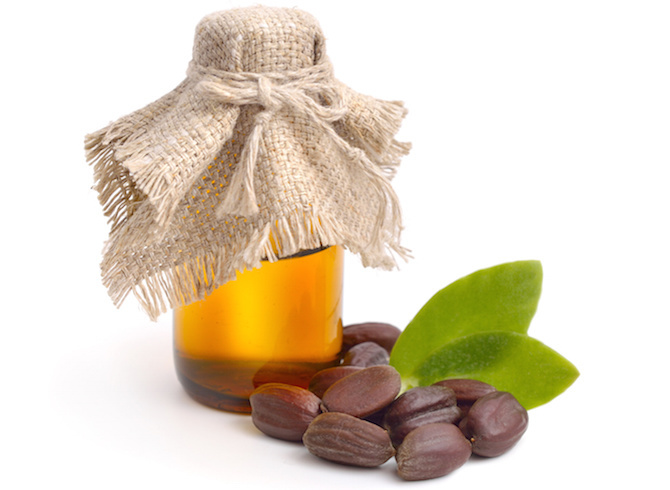 massaggio olio di jojoba