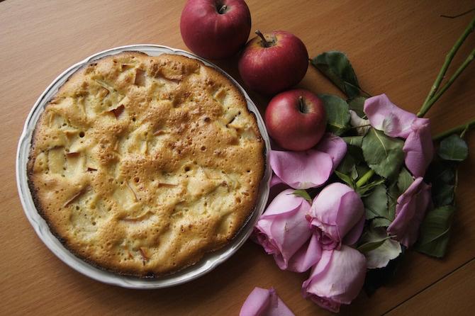 semi chia torta mele