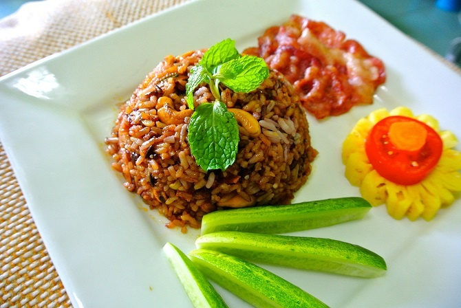 ananas ricette riso