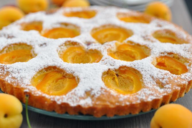 albicocche torta