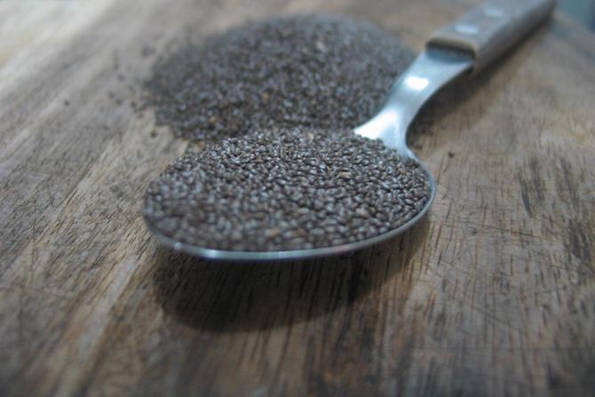 semi di chia da mangiare