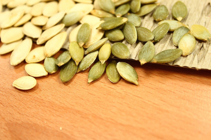 semi di zucca da mangiare
