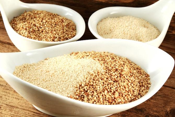 semi di sesamo da mangiare