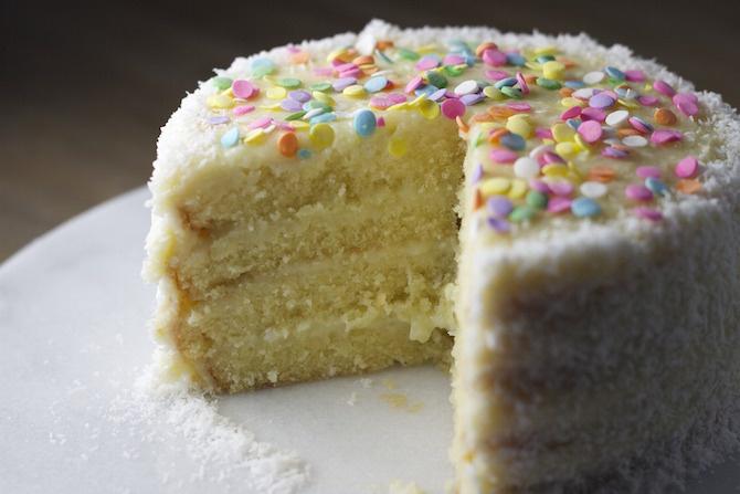 farina di cocco torta