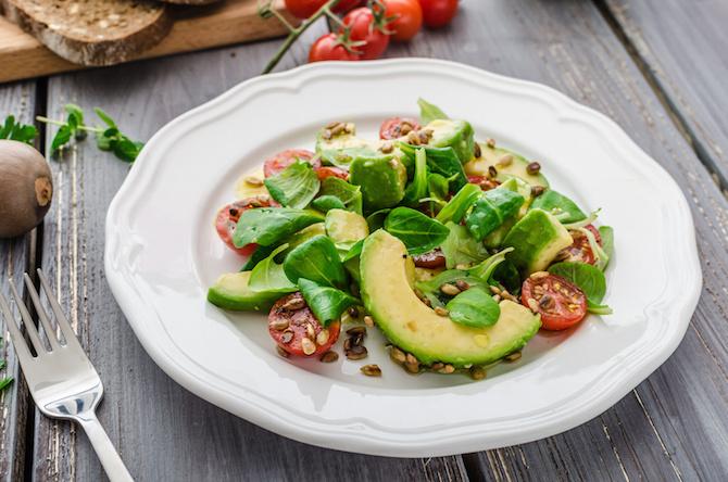 magnesio insalata spinaci