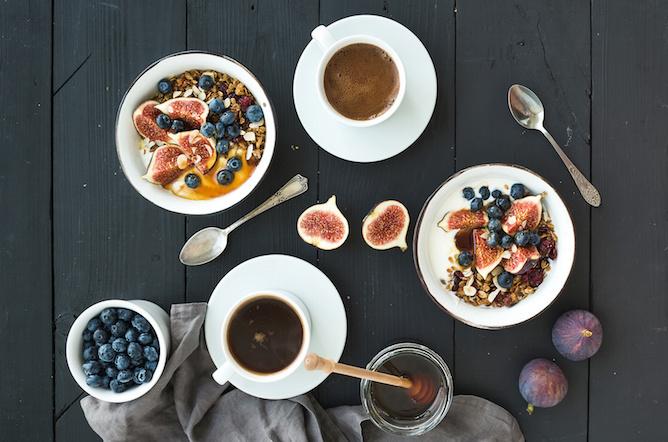 magnesio insalata yogur frutta