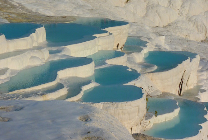 piscine naturali pamukkale