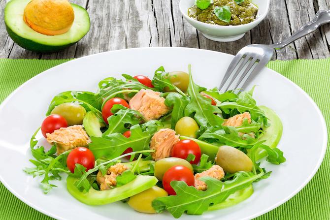 insalata potassio avocado