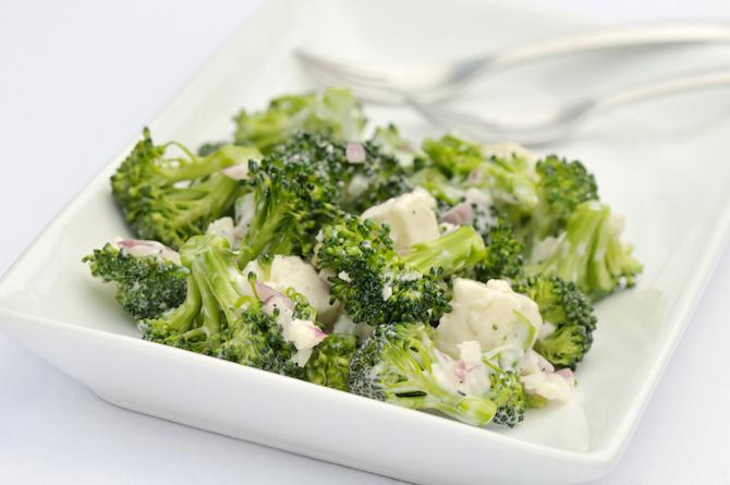 piatti vitamine broccoli insalata