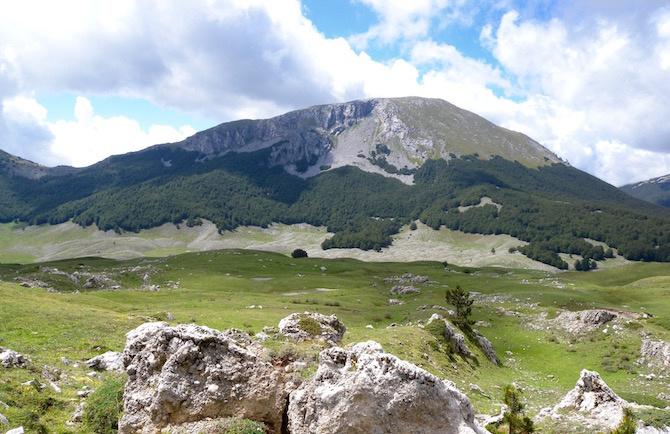 posti per fare trekking monte pollino