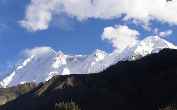 posti per fare trekking pakistan
