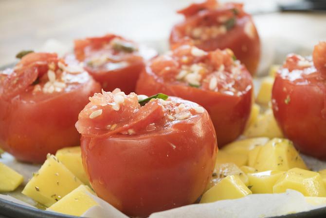 dieta mediterranea pomodori con riso