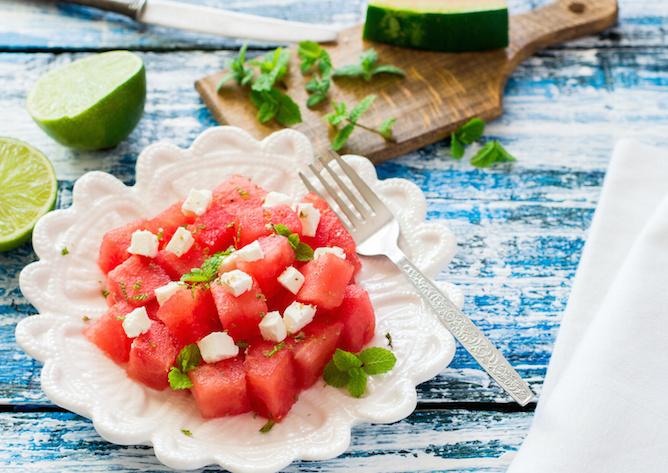 anguria insalata feta
