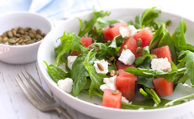 anguria insalata feta rucola