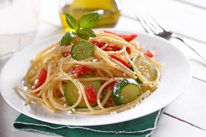 ricette dieta agosto spaghetti