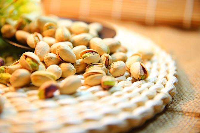 semi dieta vegetariana pistacchi