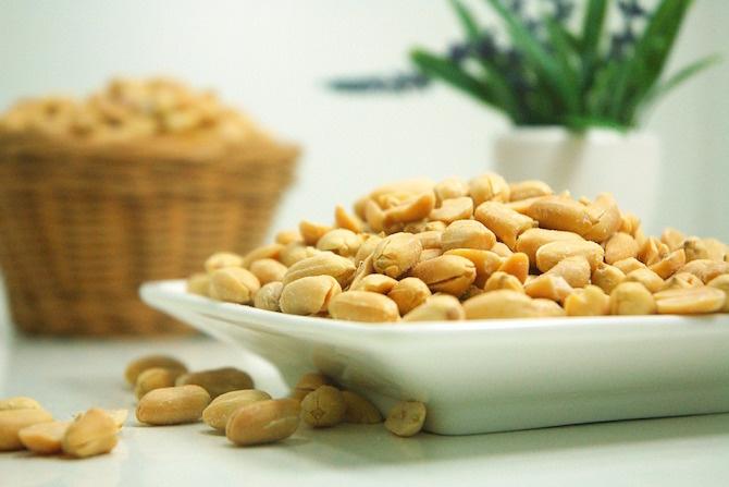 semi dieta vegetariana arachidi