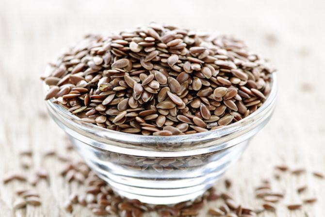 semi lino dieta vegetariana