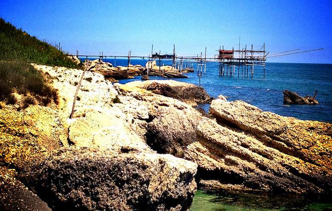 spiagge italia rocca san giovanni