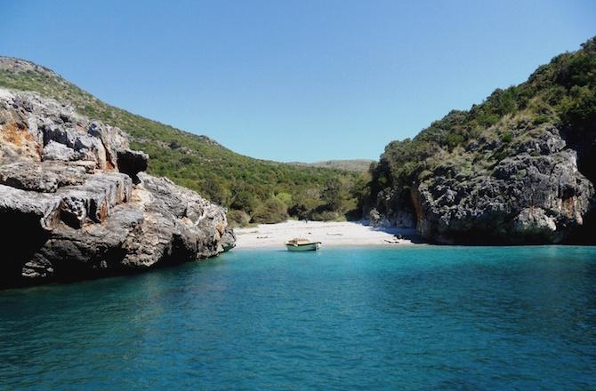 spiagge italia cala bianca