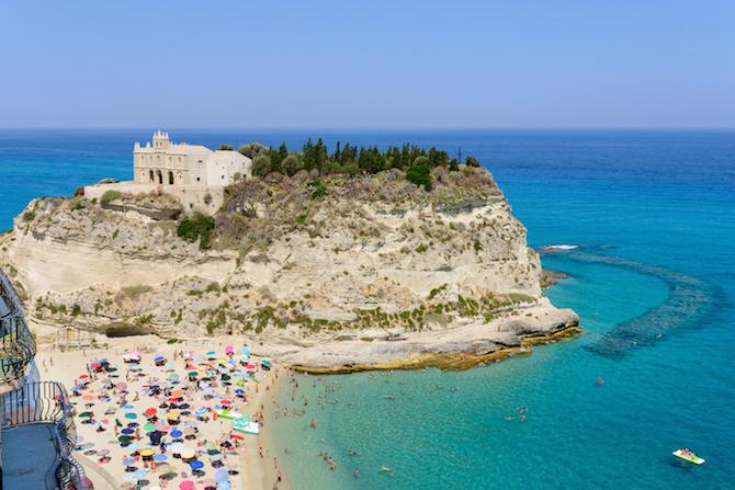 spiagge italia tropea
