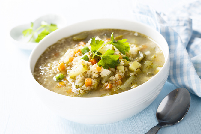 grano duro usi ricette minestra