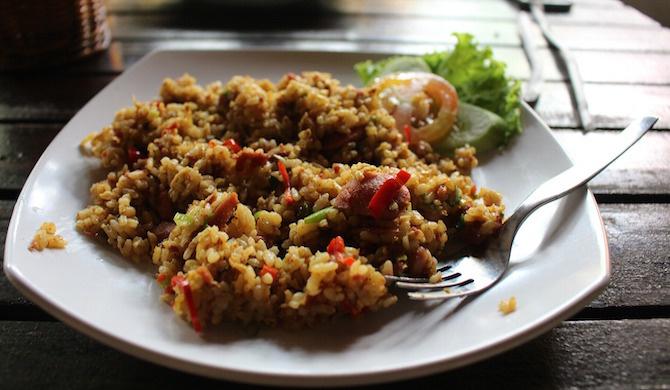 ricette indonesiane nasi goreng