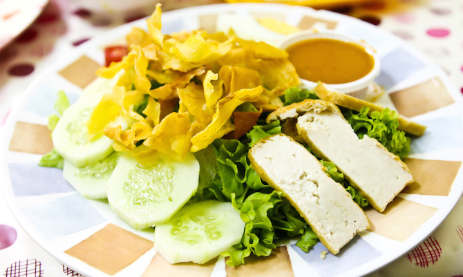 ricette indonesiane salsa gado gado