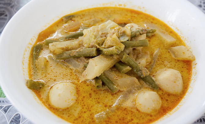 ricette indonesiana sayur lodeh