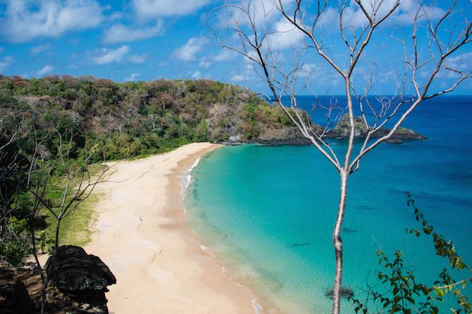 spiaggia baia do sancho brasile