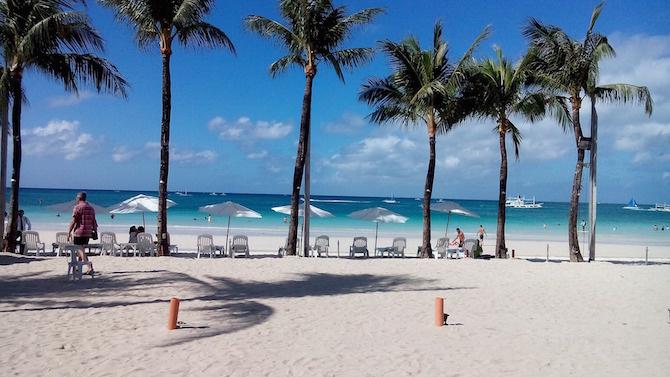 spiaggia boracay filippine