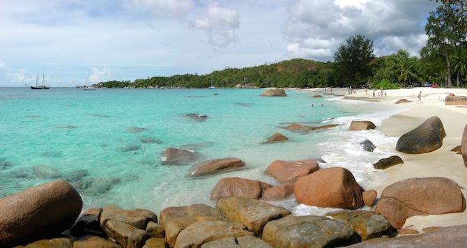 spiaggia anse lazio seichelles