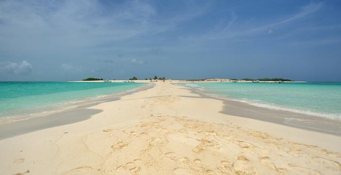 spiaggia cayo de agua venezuela