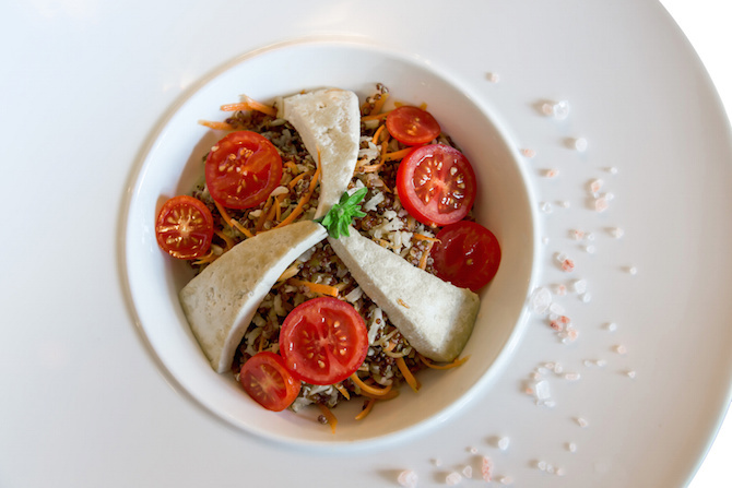 ricette macrobiotica grano saraceno insalata